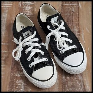 Converse All Star Glitter Low Top Black 6